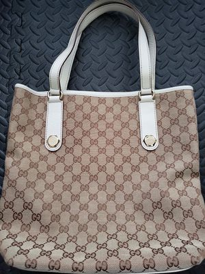 Authentic Gucci Monogram tote for Sale in West McLean, VA