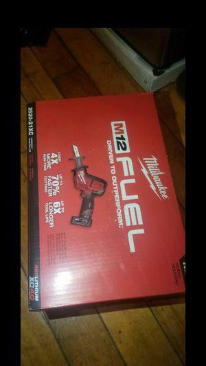 Milwaukee m12 hacksaw for Sale in Boston, MA