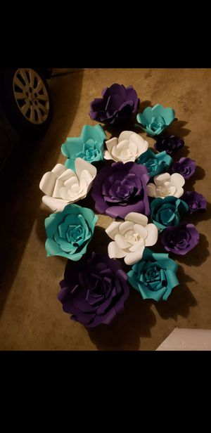 Paper flowers for Sale in Laveen Village, AZ