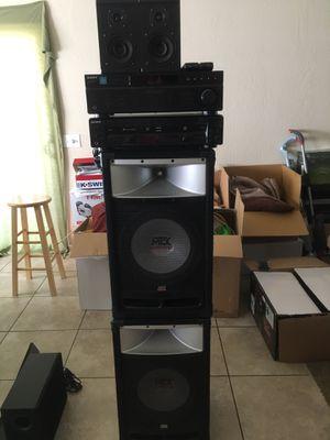 Sony Stereo System /Cd changer/Cd Recorder for Sale in Visalia, CA
