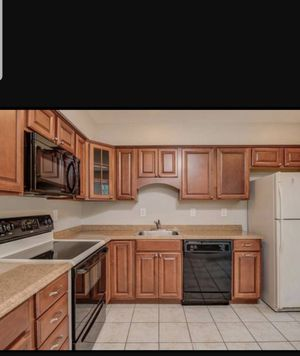 Fairly new kitchen cabinet & appliance for Sale in Fairfax, VA