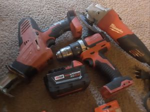 MILWAUKEEE. PORTER CABLE. RIGID.CRAFTSMEN. TOOLS. NEED GONE TODAY ASAP for Sale in Houston, TX