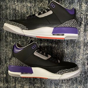 Jordan 3 Court Purple Size 10 DS 2020 Release for Sale in San Bruno, CA