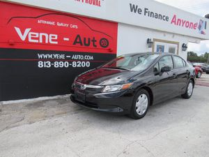 2012 Honda Civic Sdn for Sale in Tampa, FL
