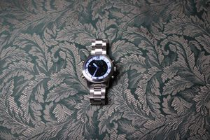 Silver fossil watch for Sale in Mableton, GA