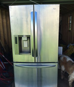 Lg stainless refrigerator for Sale in Lebanon, PA