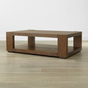 Lodge Coffee Table from Crate and Barrel for Sale in Chicago, IL