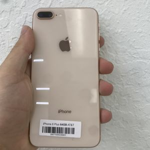 IPhone 8 plus (64GB , 256GB ) Factory Unlocked | 30 Days Warranty for Sale in Zephyrhills, FL