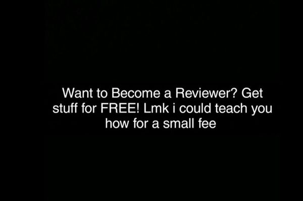 Want to become a product reviewer? Get FREE STUFF