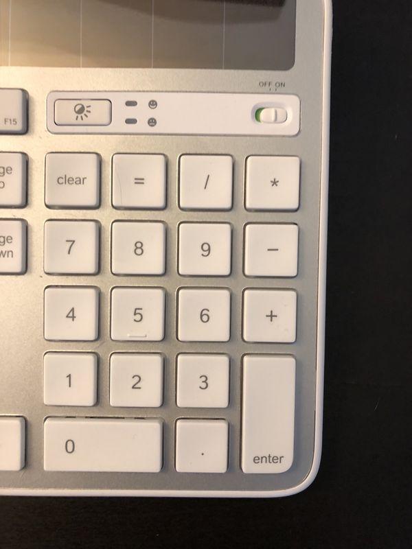 fe9a16be169 Logitech K750 Wireless Solar Keyboard (Mac) for Sale in Scottsdale ...