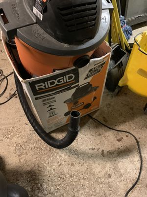Ridgid shop vac for Sale in Upperco, MD
