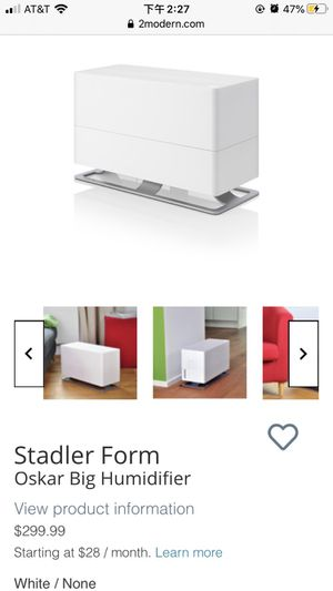 Stadler form Oskar humidifier for Sale in Fairfax, VA