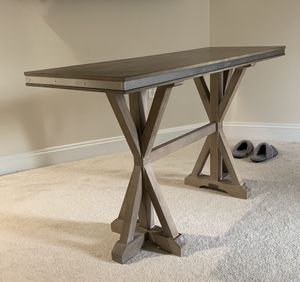 Farmhouse console table-like new for Sale in Fairfax, VA