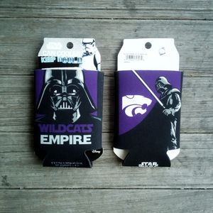 Star Wars Kansas State Wildcats Can Coolers Can Koozies Set Of 2 New for Sale in Cherryvale, KS