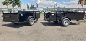 New 2019 5x10 Light speed Utility Trailer for Sale in Cornelius, OR