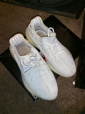 White yeezys size 9 for Sale in Washington, DC