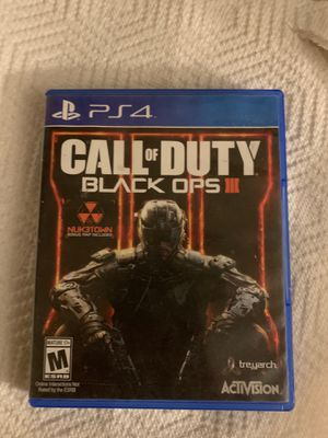 Black ops 3 ps for Sale in Pasco, WA
