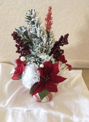 Christmas flower arrangement for Sale in Surprise, AZ