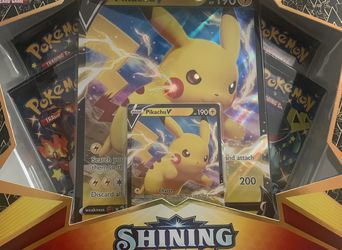 Pokémon Shining Fates Pikachu Collection for Sale in Gardena,  CA