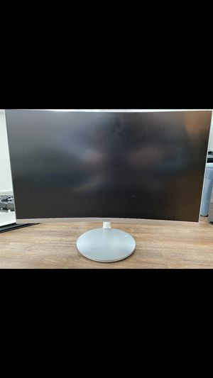 Samsung 27in curve monitor for Sale in Garland, TX