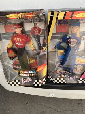 Barbie collectors nascar edition edition for Sale in Long Beach, CA