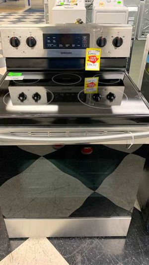 BRAND NEW!! SAMSUNG NE59M4310SS ELECTRIC STOVE 4B Y for Sale in Paramount, CA