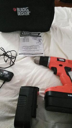 Black and Decker cordless drill for Sale in Detroit, MI