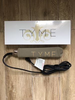 Tyme hair curling/straightening iron for Sale in Topsfield, MA