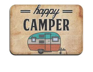 Retro Happy Camper Floor Mat for Sale in Midland, NC