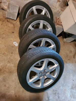 "17 "" 5x112 audi wheels and tires for Sale in Gladys, VA"