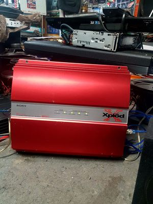 Sony Xplod 2 channel amplifier 1 ohm stable for Sale in Compton, CA