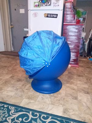 Swivel egg chair kids size for Sale in Dover, FL
