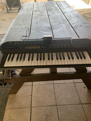 Piano keyboard for Sale in Muscoy, CA