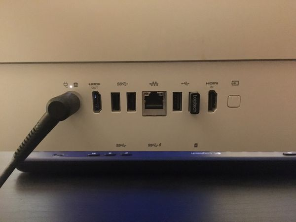 HP all-in-one Touch Screen Desktop