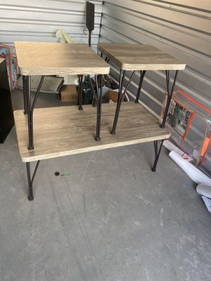 coffee table set for Sale in Chelan, WA