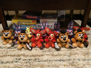 Five Nights at Freddy's GoodStuff Plushies for Sale in Arcola, TX