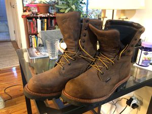 Men's Steel Toe Logger Work Boots 4420 size 11.5 for Sale in Brooklyn, NY