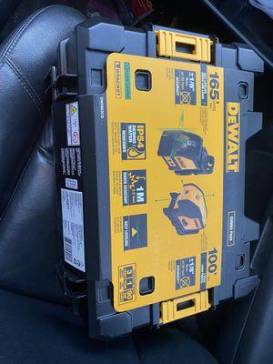 Dewalt laser combo for Sale in Winston-Salem, NC