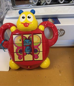 Kids block picture toy for Sale in Matawan, NJ