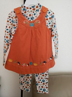 Thanksgiving Outfit size 3T for Sale in Pasadena, TX