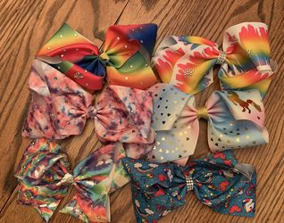 Lot Of 6 Jojo Siwa Large Bows NWOT for Sale in Anaheim,  CA