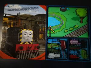 My Busy Books-Thomas & Friends-boardbook story & 12 toy figures & playmat for Sale in New York, NY