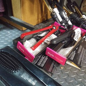 Brand New Hair Brush Flat Iron, Brushes And Curling Irons. 65% Off for Sale in Gardena, CA