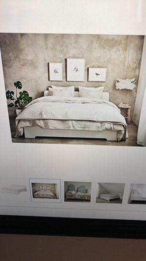 Bed Frame + Slatted Bed Base + Mattress (Full Sized) for Sale in Washington, DC