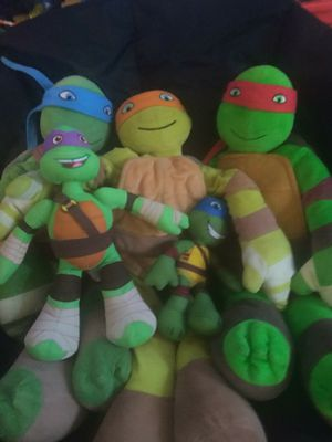 Tmnt stuffed animals for Sale in Oklahoma City, OK