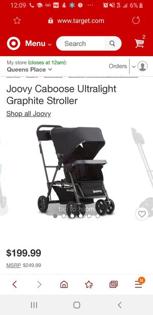 Joovy caboose ultralight for Sale in Queens, NY