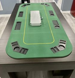8-Player Folding Poker Table Cover for Sale in Los Angeles,  CA