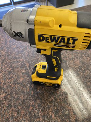 Dewalt impact 1/2 wrench for Sale in Austin, TX