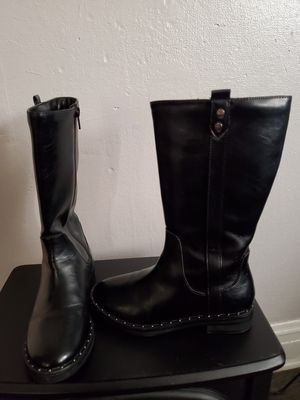 Girl's black boot size 3 for Sale in Cicero, IL