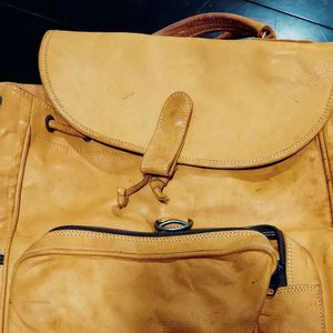 3 Piece Raw Leather Luggage Set for Sale in Alexandria, VA